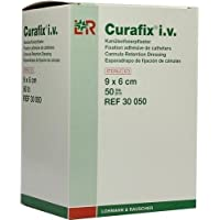 CURAFIX i.v. steril Pflaster 6x9 cm 50 St preisvergleich bei billige-tabletten.eu