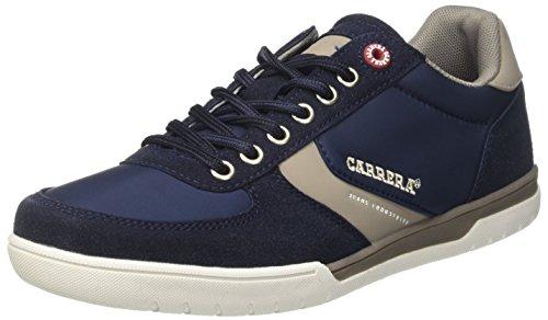 Carrera Herren Flash NY Sneaker, Blau (Aster/Flag/Ciment 02), 43 EU -