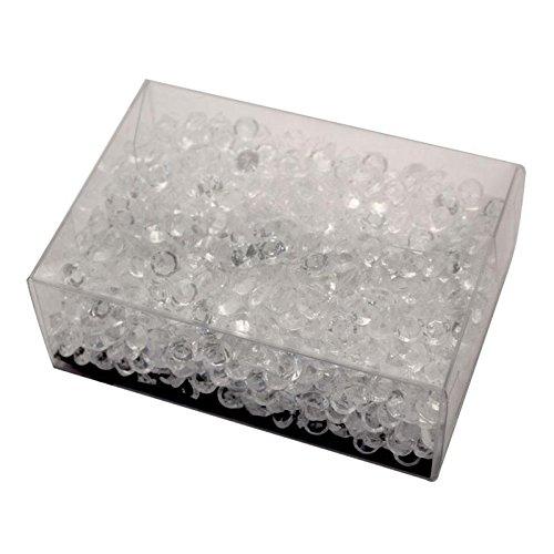 45 g Petite Acrylique Scatter Perles en Clear-2pk