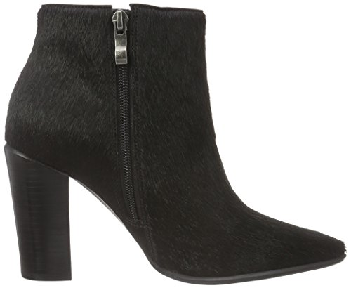 Bronx Damen Americana Kurzschaft Stiefel Schwarz (Black 01)