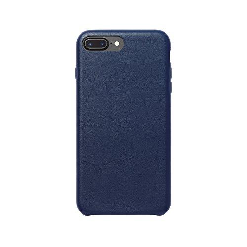 AmazonBasics schmale PU Hülle/Case für iPhone 7 Plus Navy-Blau
