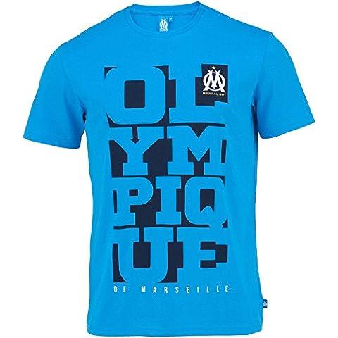 T-shirt OM - Collection officielle Olympique de Marseille - Taille adulte homme L