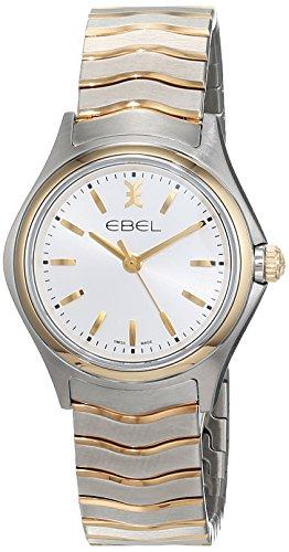 EBEL Damen-Armbanduhr EBEL WAVE LADY Analog Quarz Edelstahl 1216195