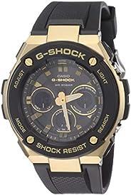 Casio G-Shock Analog-Digital Black Dial Men's Watch - GST-S300G-1A9DR (G