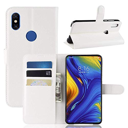 LAPINETTE Funda Tipo Xiaomi mi Mix 3-Blanco - Blanco