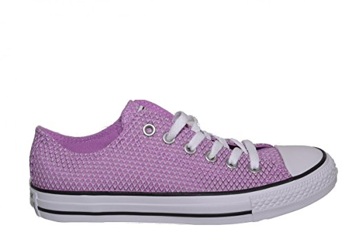 Converse All Star Ox Femme Baskets Mode Pourpre Rouge