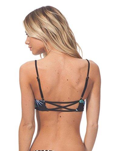 LYJBIK Sommer Die Neuen Frauen Doppel-Schultergurt Halter Split Bikini-Badeanzug-S M L XL A