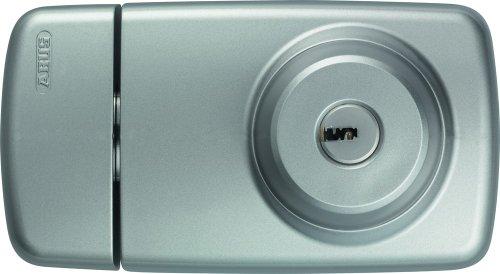 ABUS Tür-Zusatzschloss 7025 mit beidseitigem Zylinder, silber, 53272