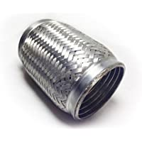 38mm x 150mm Stainless Steel Universal Exhaust Flexi Weld On Joint Replacement and Repair 1.5 x 6