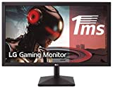 LG 24MK400H-B - Monitor Gaming FHD de 59,8 cm (23,8') con Panel TN (1920 x 1080 píxeles, 16:9, 1 ms, 75Hz, 250 cd/m², 1000:1, NTSC >72%) Color Negro Mate