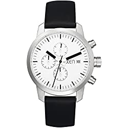 Xen Herren-Armbanduhr XL Chronograph Quarz Leder XQ0171