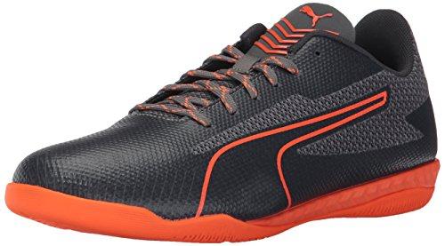 PUMA Men's 365 Ignite CT Soccer Shoe, Quiet Shade-Shocking Orange-Asphalt-Quarry, 12 M US 12m Sesame Street