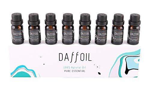 Aceites esenciales set 8 100% puros Aceite esencial humidificador, aromaterapia