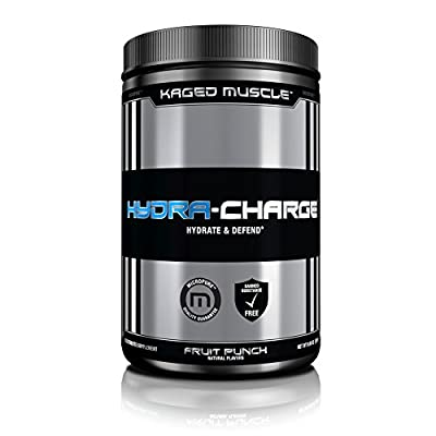 Kaged Muscle Hydra-Charge, Fruit Punch, 282 Gram from Kaged Muscle