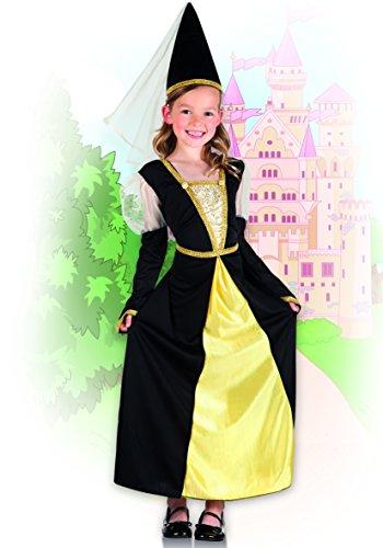 Boland 82232 – Kinderkostüm Lady Isolde, schwarz - 3