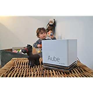 Aube, the French connected air cleaner - Caracteristics - White, Bluetooth connection