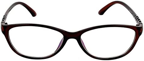 Cateye Spectacle Frame For Girls|Women|Ladies.Brown Color Frame.
