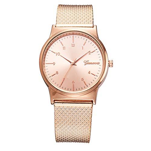 Damen Uhren Yesmile Wasserdicht Silm Minimalistisch Rose Gold Damenuhr mit Edelstahl Mesh Armband Mode Kleid Elegant Beiläufig Quarzuhr für Frau Lady Teenager Mädchen Armbanduhr Damen Uhren