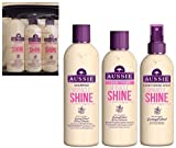 Best Aussie Shampoo And Conditioner Sets - Aussie MIRACLE SHINE GIFT SET - Shampoo 300ml Review