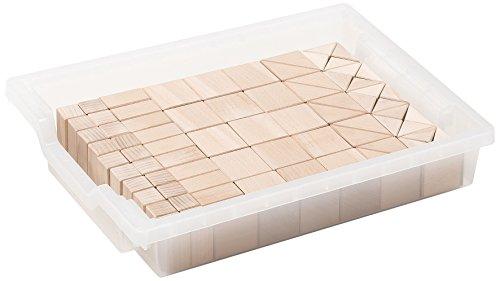 Erzi 44,5x 33,5x 11cm Deutsch Holz Spielzeug Bausteine -