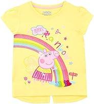 Peppa Pig Camiseta de Manga Corta para niñas