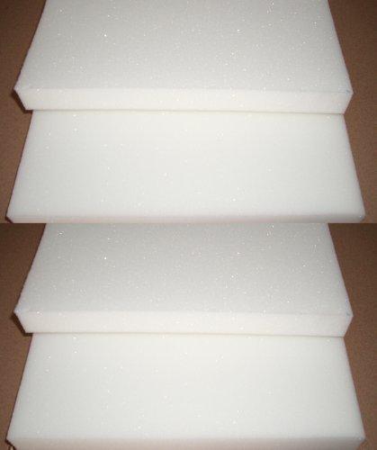 Merino Europa 4er Set Schaumstoffauflage (100% PU RG32) für Bierbank 220x25x2 cm