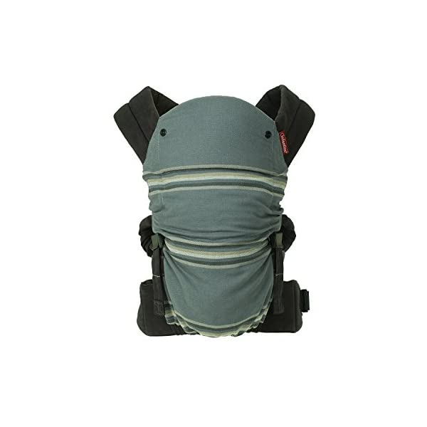 Infantino Close Ties Natural Fit Baby Carrier Infantino Fully safety tested 4 way carrier  with cinch mechanism to narrow width Facing in newborn & m position 1