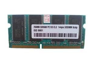 256MB SDRAM Samsung Chips - 3rd SODIMM 133MHz PC133 / 144pin 256 MB SD RAM (Notebook RAM) Speicher