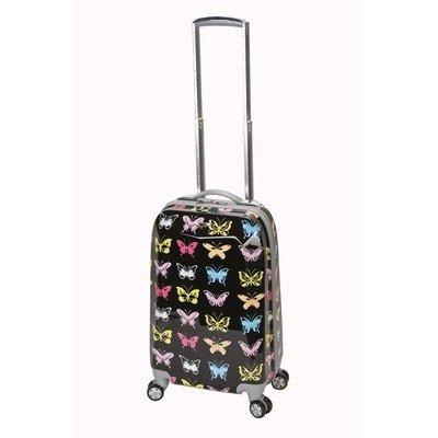 Rockland 51 cm Handgepäck aus Polycarbonat Koffer-Set, 142 Liter, Schmetterling
