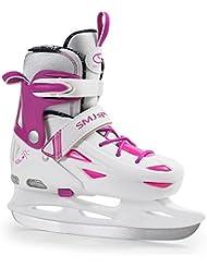 SMJ Sport–Patines de hielo Ice 087LED 3235, multicolor, 32–35