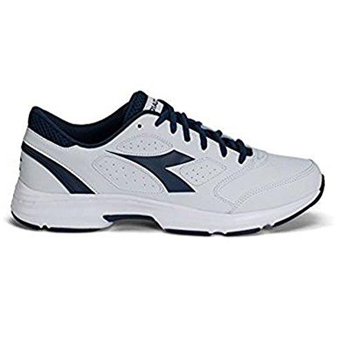 Diadora , Herren Sneaker White/saltire navy