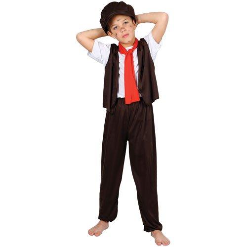 Oliver Twist Armer Junge Verkleidung Fasching Karneval Halloween Party Kostüm - Oliver Twist Kostüm
