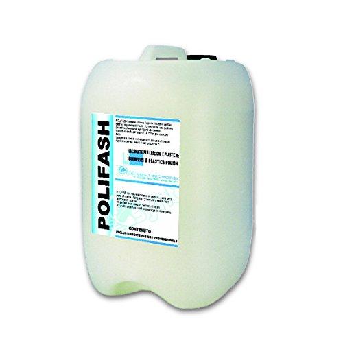 Tank Polier schützend POLIFASH 10 kg für die Außenteile aus Gummi und Kunststoff Synt Chemical (Syn-gummi)