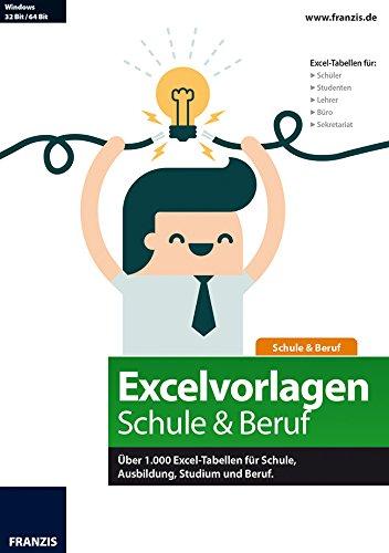 Excelvorlagen für Schule & Beruf [PC Download]