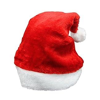 unicoco feliz Navidad sombrero fiesta suministros para adultos/de peluche gorro de Papá Noel de Navidad
