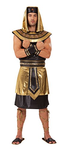 Mens Egyptian King Costume for Ancient Egypt Historic Fancy Dress Outfit Adult by Partypackage Ltd