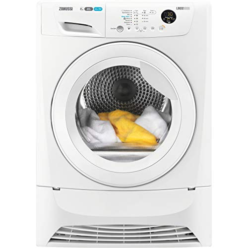 Zanussi ZDH8903W Freestanding Rated Condenser Tumble Dryer - White