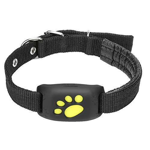WENXX Rastreador GPS para Mascotas Collar de Gato de Perro Función Resistente al Agua Carga USB Rastreadores GPS para Perros