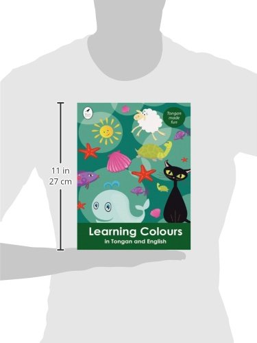 Learning Colours in Tongan and English (Tui Language Books)
