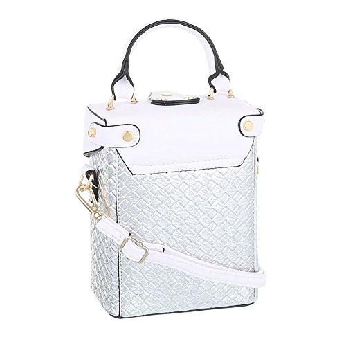 Taschen Handtasche Modell Nr.1 Silber