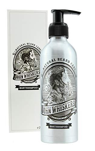 John Whiskers Bartshampoo - Made in Germany - 2in1 Bartseife mit unvergleichbarem Duft - Vegan & ohne Silikone - für einen geschmeidigen und reinen Bart