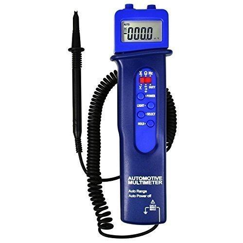 Aplicación de coches Medidor de resistencia Frecuencia multímetro digital estilo de lápiz Multímetro automotriz voltaje DC / AC