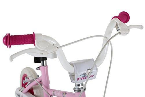 Sonic MO1601 Girl Fairy Bike, 12 inch Wheels – Pink