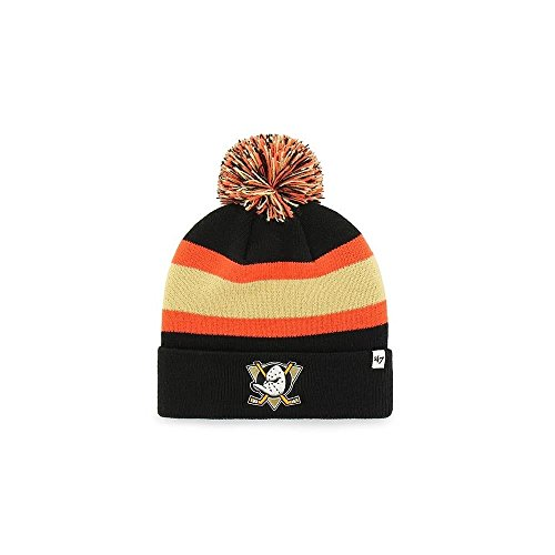 discount d0ab6 3d708 47 Brand NHL Anaheim Ducks Breakaway Cuff Knit Beany Hat One Size Mütze  Forty Seven