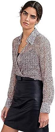 Riani Transparente Bluse aus Seidenkrepp