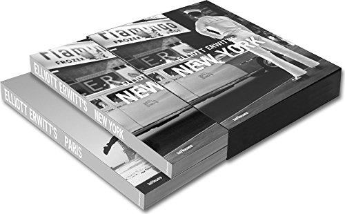 Elliott Erwitt's New York ; Elliott Erwitt's Paris : Coffret 2 volumes