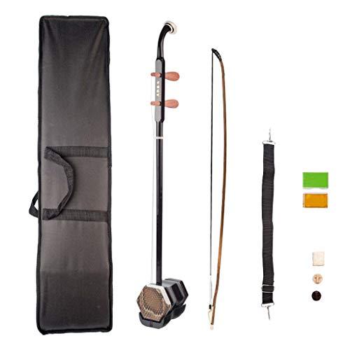 perfk Traditionelle chinesische Geige Violine 1 Satz 2 String Erhu Teile - Braun