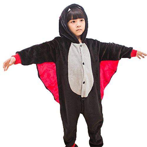 e Kostüm Erwachsene Tier Jumpsuits Onesie Pyjama Für Kinder (L(Geeignet für 116cm-125cm Höhe)) ()