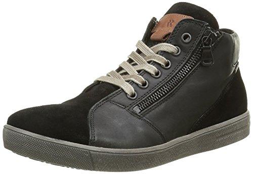 Romika Nadine 06, Femme Sneaker Haut Noir (noir (noir 100))