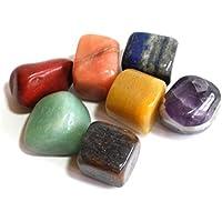 Krystal Gifts UK Tumble Stone Chakra Geschenk-Set mit 7 Kristallsteinen preisvergleich bei billige-tabletten.eu